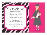 Fancy Graduation Invitations Fancy Graduation Party Invitation Zazzle