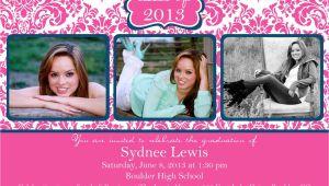 Fancy Graduation Invitations Fancy Scroll Graduation Announcement Graduation Invitation
