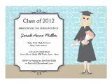 Fancy Graduation Invitations Girl 39 S Fancy Graduation Celebration Invitations Zazzle