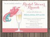 Fancy Hat Bridal Shower Invitations Bridal Shower Brunch Invitation Champagne Brunch Fancy