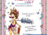 Fancy Nancy Tea Party Invitations 7 Best Tea Party Dress Up Party Images On Pinterest