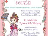 Fancy Nancy Tea Party Invitations Fancy Nancy Party Invitation Diy Printable Birthday Tea