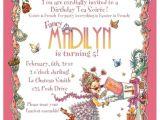 Fancy Nancy Tea Party Invitations Items Similar to Fancy Nancy Tea Party Invitation