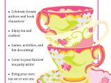 Fancy Nancy Tea Party Invitations Programs Wells Branch Bookworms