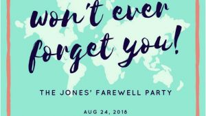 Farewell Party Invitation Template Customize 3 999 Farewell Party Invitation Templates