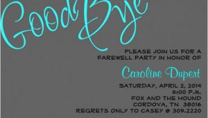 Farewell Party Invitation Template Free Farewell Party Invitation Template 20 Free Psd format