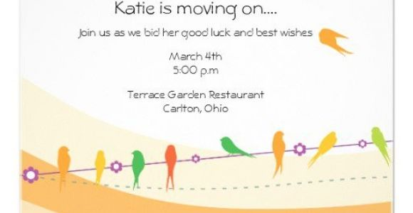 Farewell Party Invitation Wording for the Office Fice Fare Well Party Wording