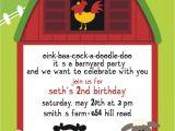 Farm Party Invitation Template Free Free Printable Barnyard Farm Invitation Template Like