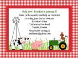 Farm Party Invitation Template Free Free Printable Cow Birthday Invitations Lijicinu