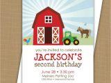 Farmyard Party Invitations Free Farm Birthday Invitation Barnyard Invitation