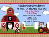 Farmyard Party Invitations Free Free Printable Kids Tractor Birthday Invitation