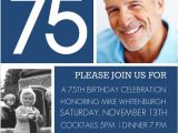 Father S 60th Birthday Invitation Wording 75th Birthday Invitations 50 Gorgeous 75th Party Invites