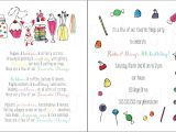 Favorite Things Birthday Party Invitation Custom Birthday Party Invitation Favorite Things Party