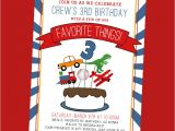 Favorite Things Birthday Party Invitation Favorite Things Birthday Party Invite