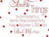 Favorite Things Christmas Party Invitation 1000 Ideas About Favorite Things On Pinterest