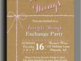 Favorite Things Party Invitation Favorite Things Party Invitation Printable or Printed with