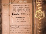 Favorite Things Party Invitation Wording Favorite Things Shower Invitation Bridal Shower Invitation