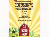 Favorite Things Party Invitation Wording Vintage Barnyard Animal Farm Birthday Party Invitation