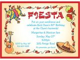 Fiesta Christmas Party Invitations Fiesta Party Invitations