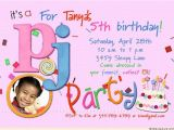 Fifth Birthday Party Invitation Wording 5th Birthday Invitation Wording A Birthday Cake