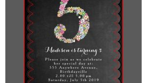 Fifth Birthday Party Invitation Wording Staggering 5th Birthday Party Invitation Wording