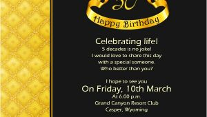 Fifty Birthday Invitation Wording 50th Birthday Invitation Wording Samples Wordings and