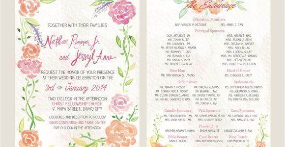Filipino Wedding Invitation Sample Wedding Invitation Philippines Sunshinebizsolutions Com