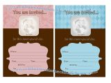 Fill In Baptism Invitations Celebrations In the Catholic Home Printable Fill In