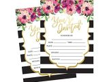 Fill In Graduation Invitations 50 Fill In Invitations Wedding Invitations Bridal Shower