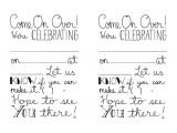 Fill In Graduation Invitations Items Similar to Printable Party Invitations Fill In