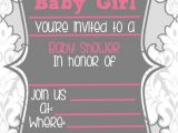 Fill In the Blank Baby Shower Invitations Blank Baby Shower Invitations