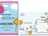 Find Dr Seuss Baby Shower Invitations How to Make Dr Seuss Baby Shower Invitations — Liviroom Decors