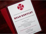 Fire Academy Graduation Invitations Red Line Fire Academy Graduation Announceent or by Tulaloo