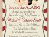 Firefighter themed Baby Shower Invitations 48 Best Firefighter Baby Shower Images On Pinterest