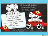 Firefighter themed Baby Shower Invitations Firefighter Baby Shower Invitations