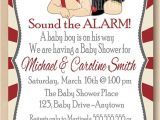 Fireman Baby Shower Invitations Firefighter Baby Showers Its A Boy and Boys On Pinterest