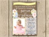 First Birthday and Baptism Invitation Wording Pastel Baptism 1st Birthday Invitation Diy by
