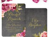 First Birthday Brunch Invitations 25 Best Ideas About Burgundy Baby Shower On Pinterest