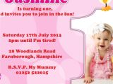 First Birthday Invitation Card Matter 1st Birthday Invitation Card Wordings