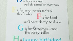 First Birthday Invitation Letter A is for Alec Abc 1st Birthday My Insanity