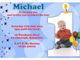 First Birthday Invitation Letter format First Birthday Party Invitation Ideas – Bagvania Free