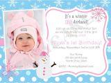 First Birthday Party Invitation Message 1st Wording Birthday Invitations Ideas Bagvania Free
