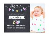 First Birthday Party Invites Free 1st Birthday Invitation Template Free Printable Best