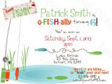 Fish themed Birthday Party Invitations Fishing Birthday Invitations Ideas Bagvania Free