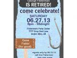 Fishing Retirement Party Invitations Fishing Retirement Party Celebration Invitation