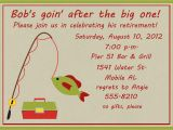 Fishing Retirement Party Invitations Go Fish Retirement Party Invitation by Celebrationspaperie