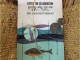 Fishing themed Party Invitations A Boy S Vintage Fishing themed Birthday Party Spaceships