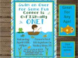 Fishing themed Party Invitations Boy 39 S Birthday Fishing Invite Fishing Invitation Fishing