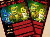 Five Nights at Freddy S Birthday Invitation Template Free Printable Five Nights at Freddy S Party Invitation