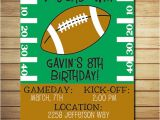Flag Football Party Invitations Free Printable Football Birthday Invitations Free